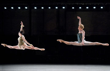 Nicola Curry and David Hallberg in 'Citizen'