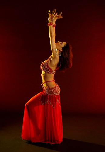 Rena Nunez, Belly Dancer