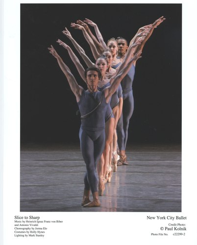 New York City Ballet's 'Slice to Sharp'