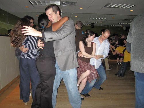 Swing dancing at Frim Fram
