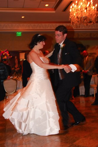 Robert and Sima Abrams' first dance
