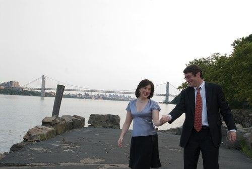 Robert Abrams and Sima Shapiro Engagement shoot