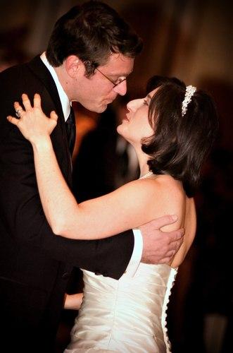 Robert and Sima Abrams' first dance