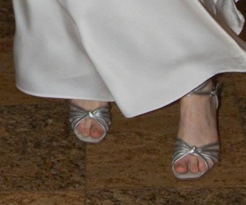 Sima is wearing custom made shoes from <a href='http://www.worldtonedance.com' target='_blank'>Worldtone</a>.