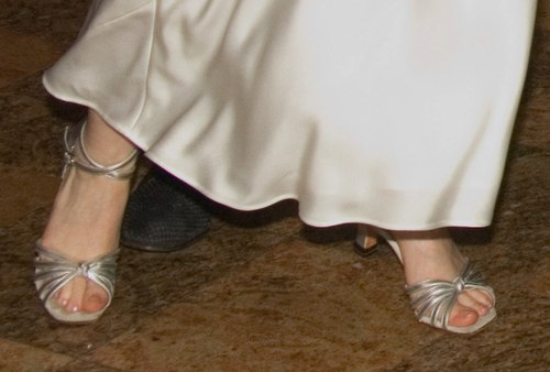 Sima is wearing custom made shoes from <a href='http://www.worldtonedance.com' target='_blank'>Worldtone</a>.