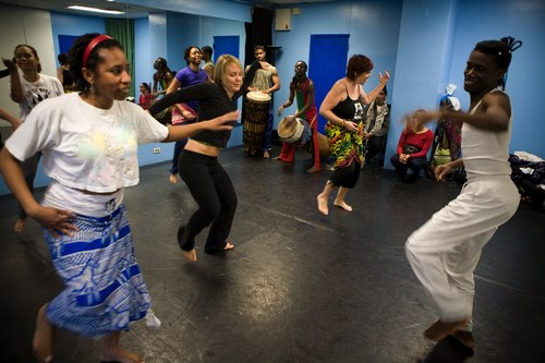 A Congolese Dance Workshop