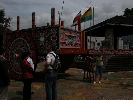 The world's largest oxcart