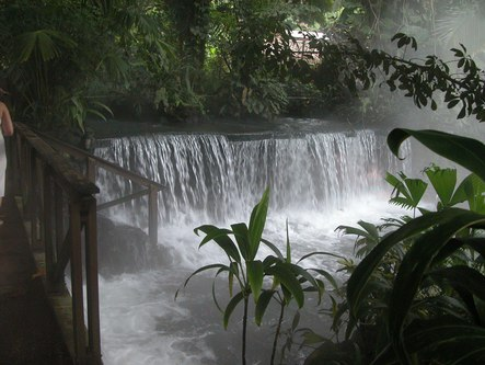 Hot springs at the Arenal Resort