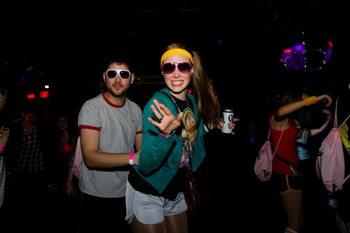 Cool Shades at the Down & Derby Roller Disco