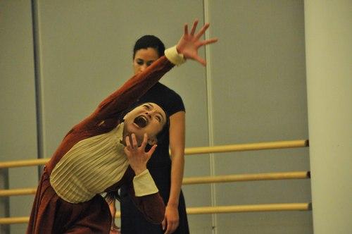 Mary Anthony's 'The Devil In Massachusetts' Dancers: Yuko Giannakis and Natasha Diamond-Walker