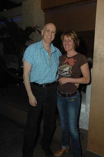 Chris Donofrio and Sandra