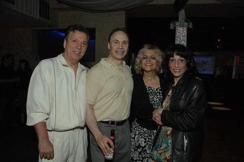 Danny, Sal Riccio, Cynthia and Lena