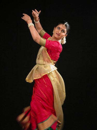 Perana Deshpaude, Kathak dancer at the Downtown Dance Festival