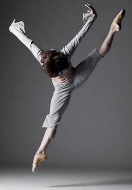 BalletX dancer Laura Feig, 2009.