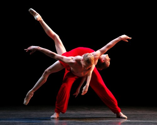 MORPHOSES, Wendy Whelan and Andrew Crawford in RHAPSODY
