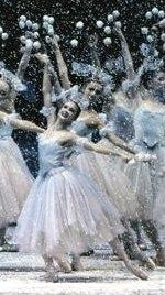 New York City Ballet's 'The Nutcracker' - the snow fairies, detail