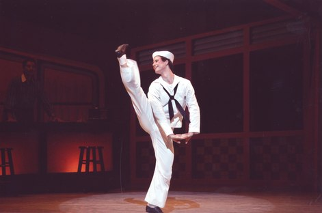 Pennsylvania Ballet Soloist Philip Colucci in Jerome Robbins's 'Fancy Free'