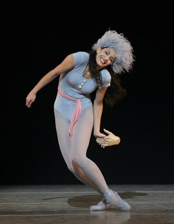 Pennsylvania Ballet Principal Dancer Riolama Lorenzo in Jerome Robbins's 'The Concert'