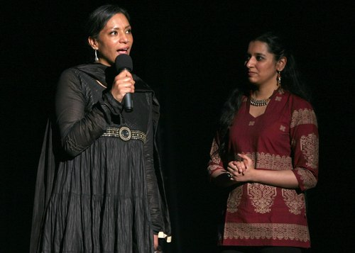 Directors of combined event: Amina Ahmed & Prachi Dalal of IAAC Courtesy MasalaJunction.com & IAAC