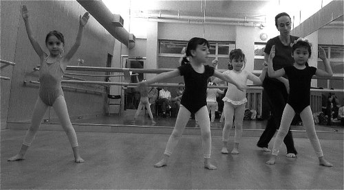 Rachael Kosch teaches a Creative Dance Class at the Martha Graham School